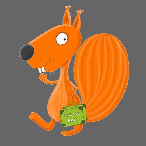 Eichhörnchen Nuss-Doc - Turnbeutel