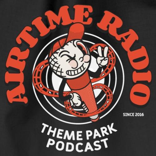 Airtime Radio Logo 2020 white - Turnbeutel