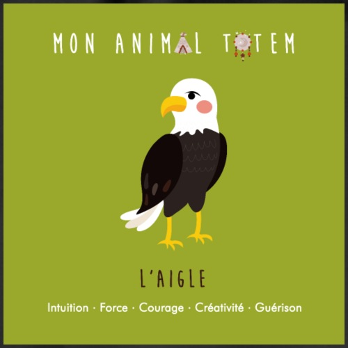 AIGLE / ANIMAL TOTEM - Sac de sport léger