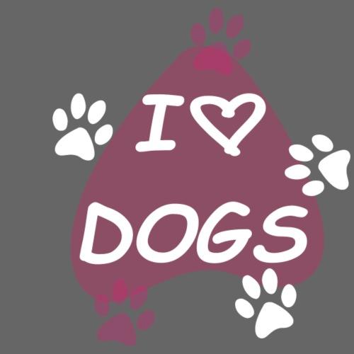 I love Dogs - Mochila saco