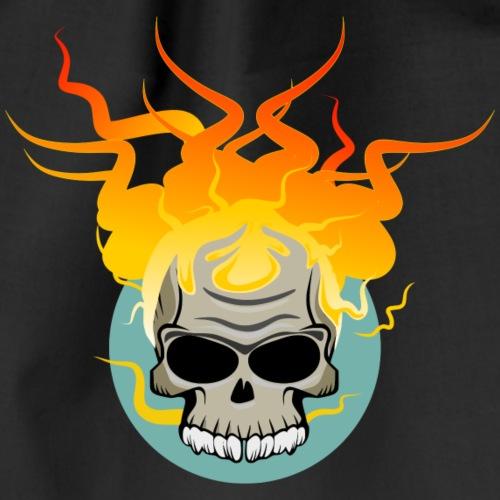 skull fire - Mochila saco