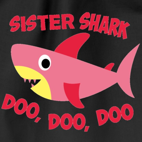 Sister Shark - Drawstring Bag