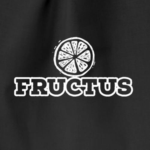 Fructus Logo Vol.1 White - Drawstring Bag