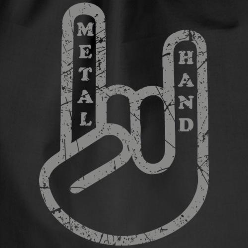 Metal Hand Devil Horns Rocker Pommesgabel Mano - Turnbeutel