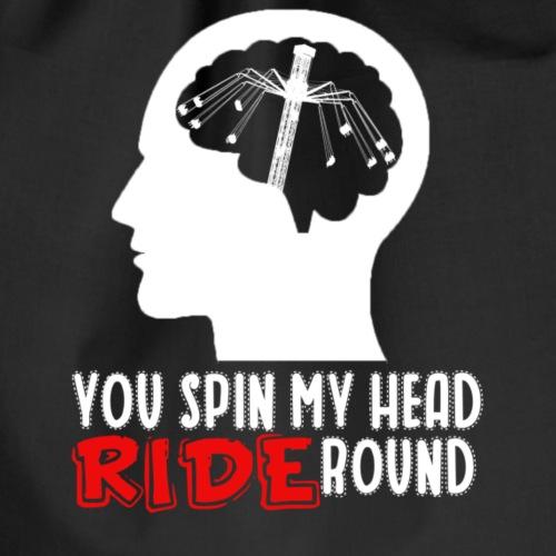 You spin my Head RIDE Round - ParkTube Shirt - Turnbeutel