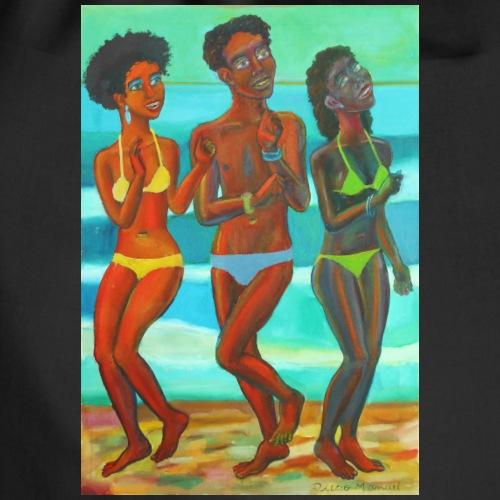 bailando en la playa 2020 b - Mochila saco