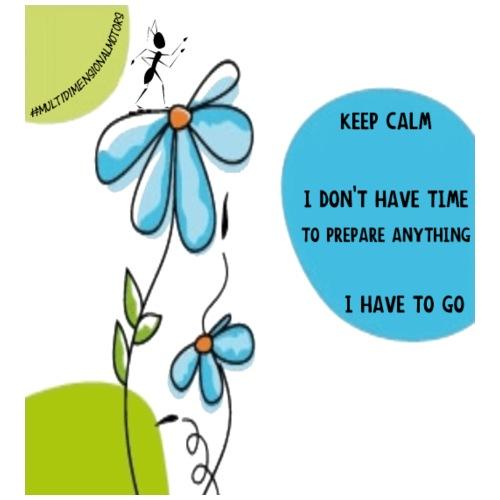 Ant Keep Calm - Sacca sportiva