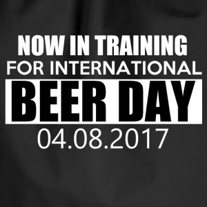 Training voor de internationale BIER DAG - Gymtas