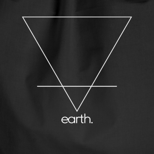 earth. (white) - Turnbeutel