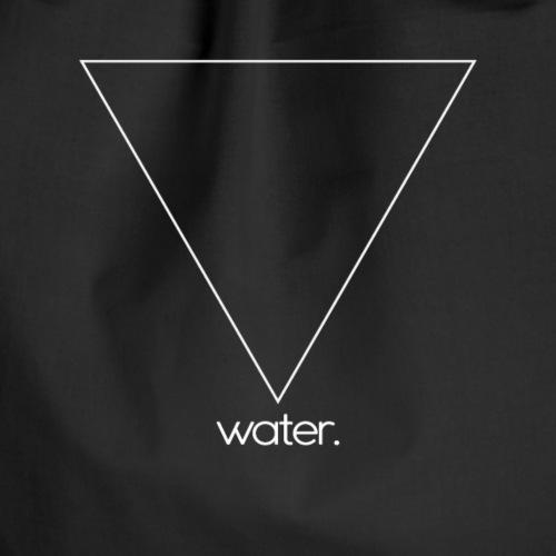 water. (white) - Turnbeutel