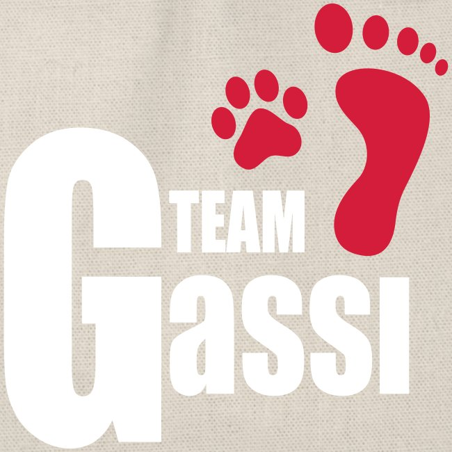Team Gassi - Turnbeutel