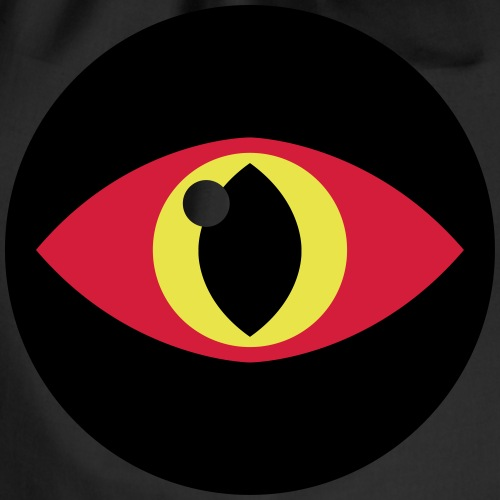 Lizard Eye (Vektorgrafik) - Turnbeutel