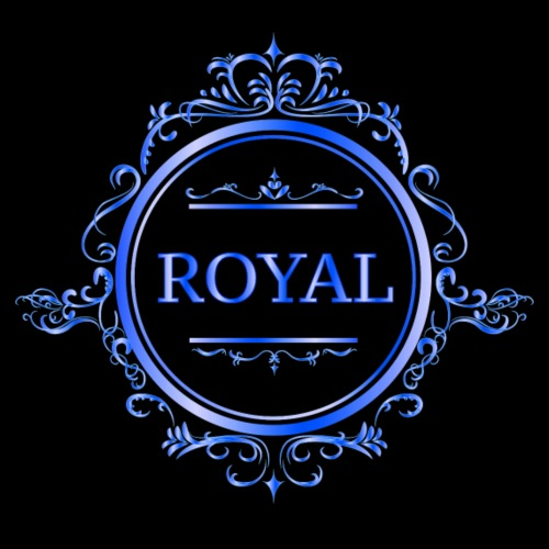 ROYAL- BLUE - Turnbeutel