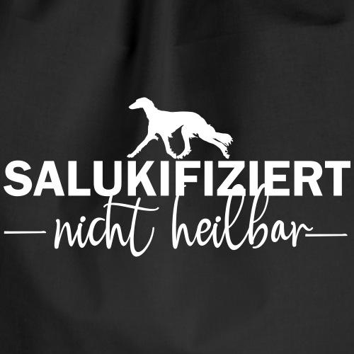 Saluki - nicht heilbar - Turnbeutel