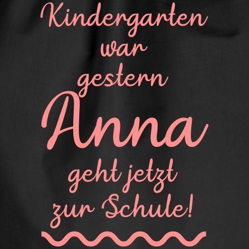 Kindergarten war gestern (Anna) - Turnbeutel