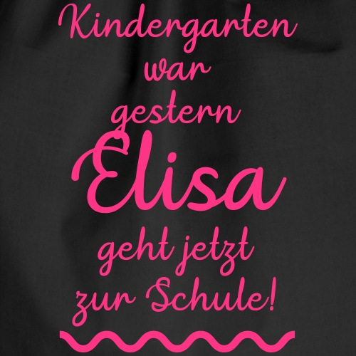 Kindergarten war gestern (Elisa) - Turnbeutel
