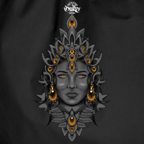 Duke Tattoo Fantasy Witch by Gideon - Gymtas