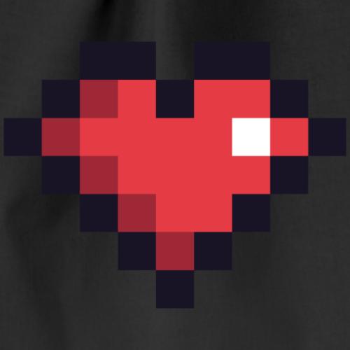 Pixel Heart - Drawstring Bag