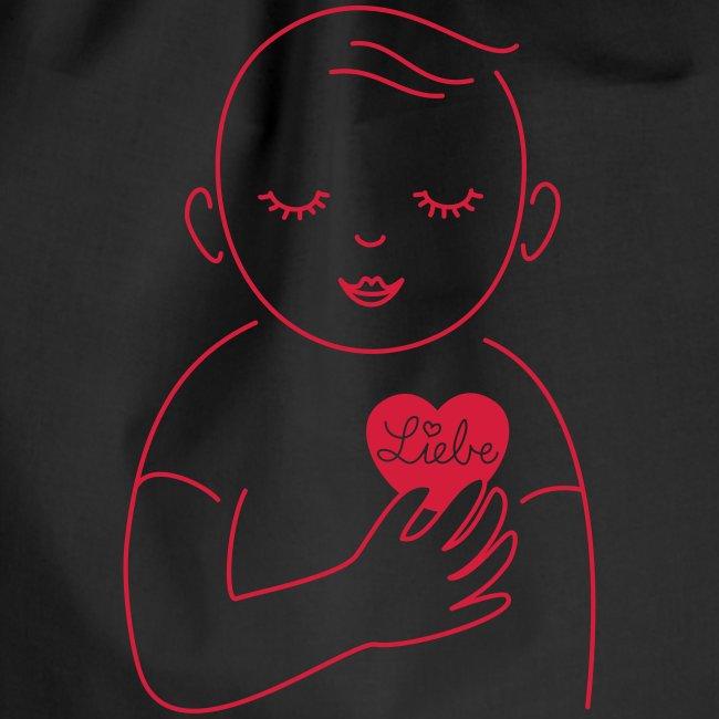 Liebe im Herzen