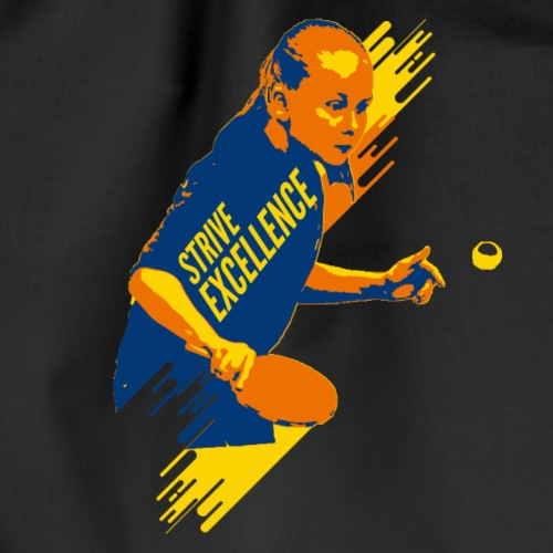 Strive Excellence Shirt Tischtennis Meisterschaft - Turnbeutel