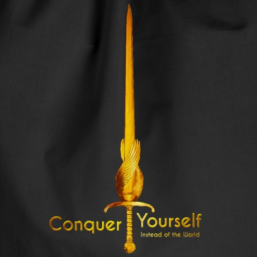 Conquer Yourself - Turnbeutel