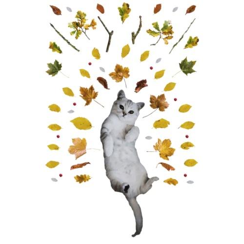 CAT lying - Drawstring Bag
