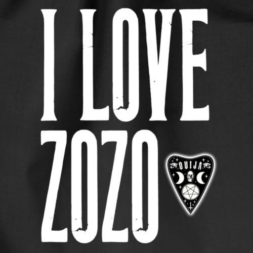 I love Zozo - Turnbeutel