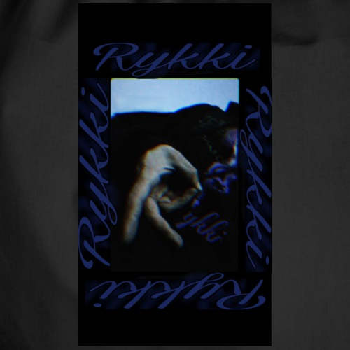 Rykki Lila Logo Handsign R - Turnbeutel