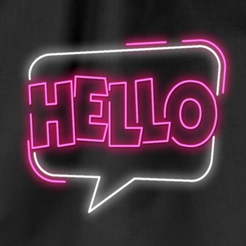 Hello Neon - Worek gimnastyczny