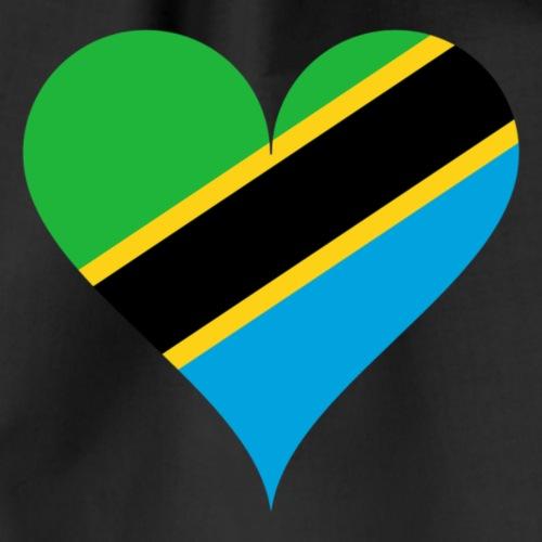 I love Tanzania Shirt - Drawstring Bag