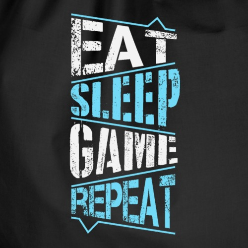 Eat Sleep Game Repeat - Sac de sport léger