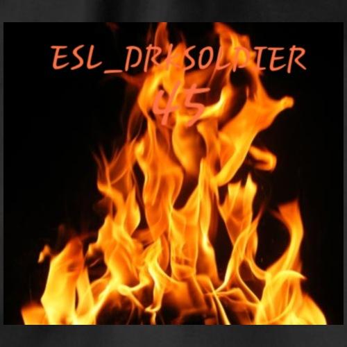 ESL_DRKSOLDIER mit Flamme - Turnbeutel