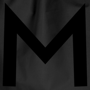 alphabet M - Drawstring Bag