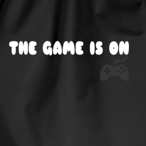 THE GAME IS ON T-SHIRT - Drawstring Bag