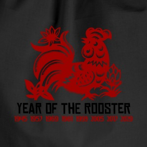 Years of The Rooster - Drawstring Bag