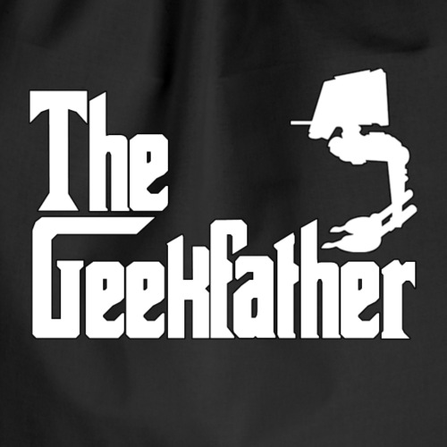 The Geekfather - Drawstring Bag