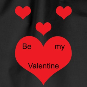 Be_My_Valentine - Drawstring Bag