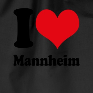 I love Mannheim - Drawstring Bag