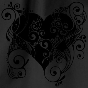 heart Tattoo - Drawstring Bag