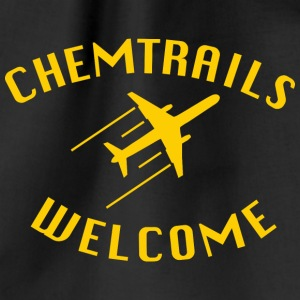 Chemtrails Welcome - Turnbeutel