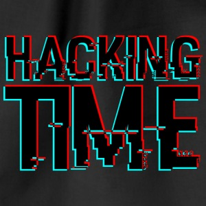 HACKING TIME HACKER - Turnbeutel