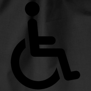 wheelchair - Drawstring Bag
