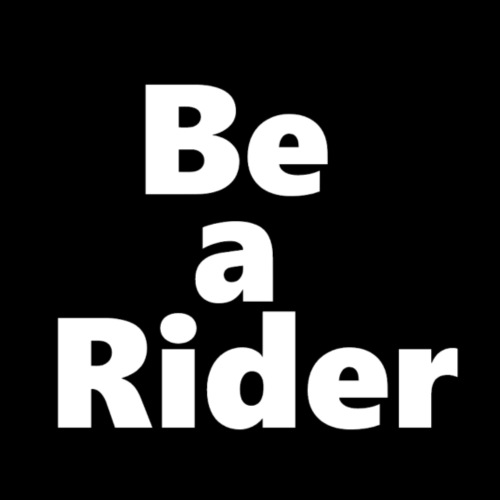 Be a Rider - Turnbeutel