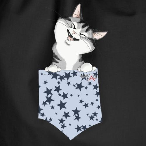 gatto tasca - Sacca sportiva