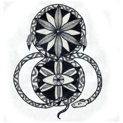 Tatouage SnakeDream - Sac de sport léger