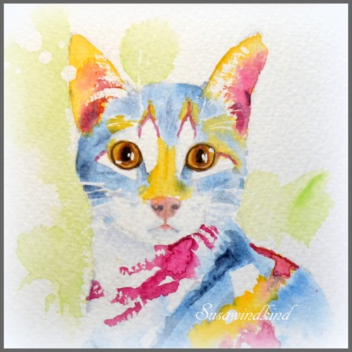Anni Katze - Turnbeutel