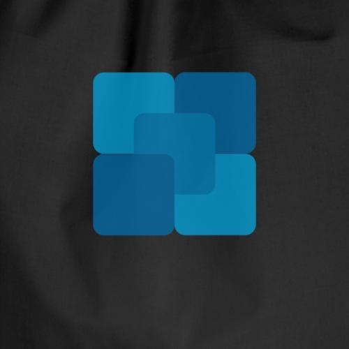 Square fluid - Drawstring Bag