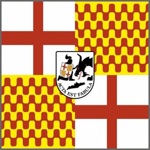 Bandera Tabarnia cuadrada - Mochila saco