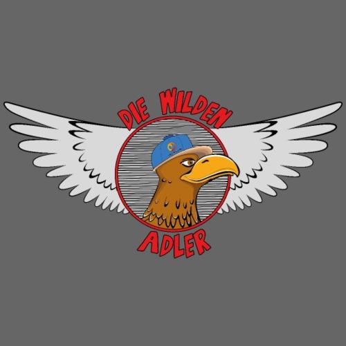 Logo Die Wilden Adler - Turnbeutel