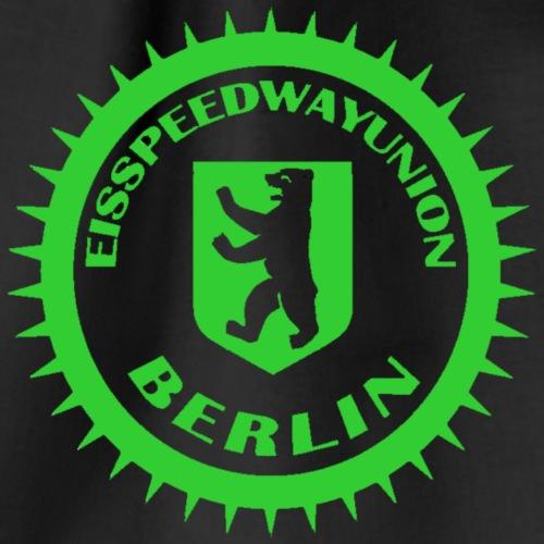 Eisspeedwayunion Logo grün zweiseitig